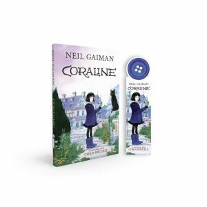 Livro Coraline(capa dura) + marca pagina