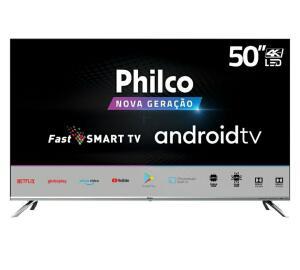 "[R$1800 AME+CC Americanas] Smart Tv Philco 50"" 4k Áudio Dolby Chromecast Built In   R$2.000"