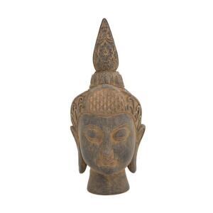 Cabeça Buda Decorativa Explorer Usnisa 19 cm - Home Style   R$14
