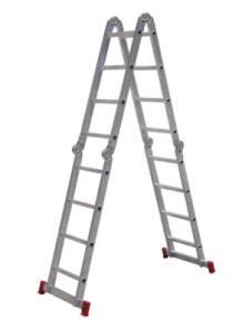 Escada Articulada 13 em 1 Botafogo – 4x4 16 Degraus | R$370