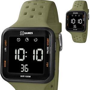 Relógio Masculino X Games Digital Verde Militar XGPPD100 PXFX | R$ 144,00