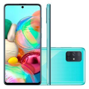 Smartphone Samsung Galaxy A71, 128GB, 32MP, Tela de 6.7´, Azul | R$1699