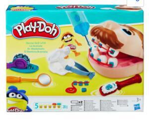 Conjunto Play-Doh Hasbro Dentista | R$65