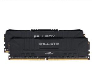Memória Crucial Ballistix Sport LT, 16 GB (2X8), 3000MHz, DDR4, CL15, Preta - BL2K8G30C15U4B | R$500