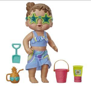 Boneca Hasbro Baby Alive - Bebê Sol e Areia | R$68
