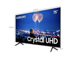 "Tv Samsung Tu8000 75"""
