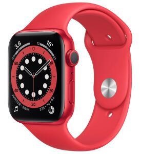 Apple Watch Series 6 (GPS) 44mm caixa de alumínio com pulseira esportiva | R$ 4520