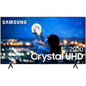 "[AME R$ 3933 ]Samsung Smart TV 70"" Crystal UHD 70TU7000 4K 2020 | R$ 4370"