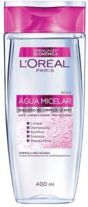 [PRIME] Água Micelar 5 em 1 - L'Oréal Paris - 400ml | R$ 19,80