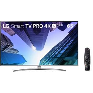 "[AME R$3599] SmartTV Tela 65"" Pro LG 65UM761C0SB 120Hz | R$3999"