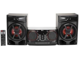 Mini System LG Bluetooth 220W CD Player FM | R$ 650