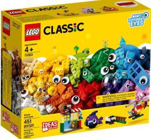 LEGO Classic Peças e Olhos 11003 - 451 Peças R$155