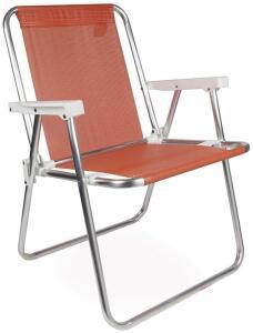 Cadeira de praia aluminio | R$ 56