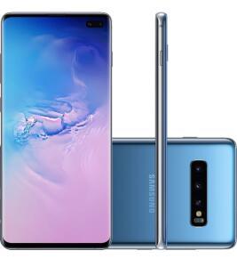 [R$2269 AME] Smartphone Samsung Galaxy S10+ Azul 128GB | R$2.339