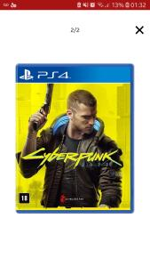 (Boleto APP) Cyberpunk 2077 - Mídia Física PS4 e Xbox One | R$227