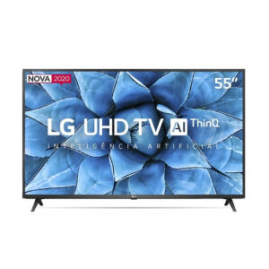 "Smart Tv 55"" LG 55UN7310 4K 4HDMI 2 USB Wi-Fi Inteligência Artificial Thinq Ai   R$2250"