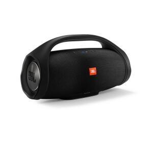 Caixa de Som JBL Boombox 60W Bluetooth à Prova D'água Preta | R$ 1899