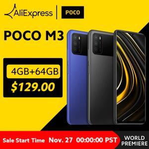 POCO M3 4GB 64GB Versão Global | R$671