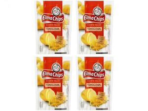 Kit Batata Palha Elma Chips Tradicional 110g (4 unidades) | R$10