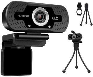 [PRIME] Webcam USB Full HD 1080P Microfone Embutido Ângulo 110° + Tripé | R$152