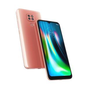 [COR ROSA] Motorola G9 Play + Fone de Ouvido Bluetooth Motorola Vervebuds 100 Preto | R$1.169