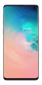 Samsung Galaxy S10 branco-prisma 128 GB + 8 GB | R$ 2.099