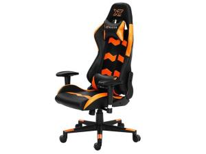 Cadeira Gamer XT Racer Reclinável Preta e Laranja - Speed Series | R$900