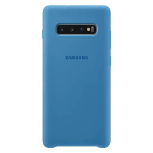 Samsung Capa Protetora Silicone S10+ Azul (EF-PG975TLEGBR) | R$27