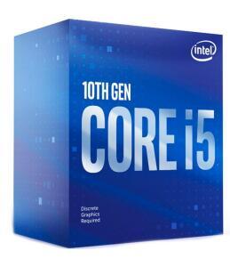 Processador Intel Core i5-10400F Cache 12MB, 2.9GHz LGA 1200 (Sem Vídeo) - BX8070110400F | R$1108