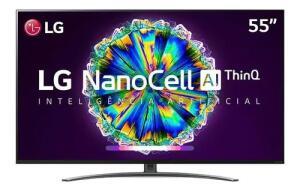 Smart Tv Nanocell 55 Polegadas LG Nano86sna Uhd 4k Ips Wi-fi | R$3.399