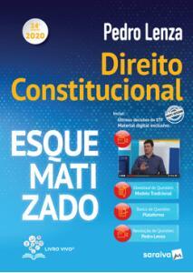 Direito Constitucional Esquematizado - Pedro Lenza - 24ª Edição (2020) - R$69