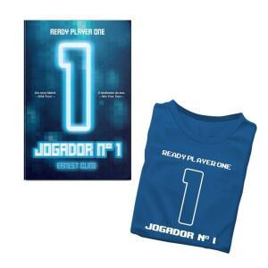 Livro Jogador Número 1 - Camiseta BRINDE | R$ 23