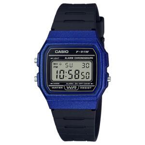 [AME R$80] Relógio Casio Digital F-91WM-2ADF-BR - Azul/Preto - R$89