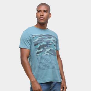 Camiseta Ultimato Estampada Masculina - Azul