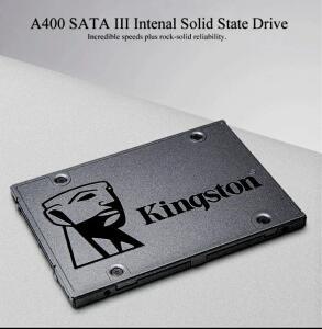 Kingston A400 120GB 2.5 polegada SATA III SSD HDD HD Disco Rígido para Notebook PC | R$140