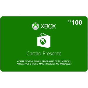 Xbox Gift Card 100 R$   R$ 90