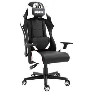 Cadeira Gamer Snake, Krait, White | R$960