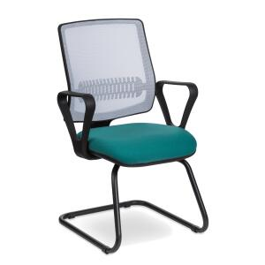 Cadeira Fixa Uni White n Green