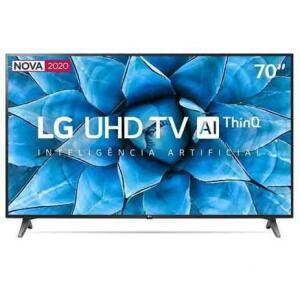 Smart TV LG AI ThinQ 70UN7310PSC LED 4K 70 | R$ 3.999