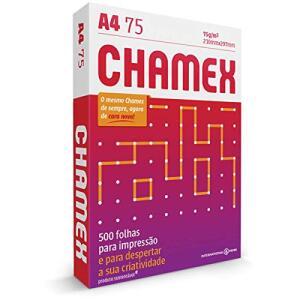 [PRIME] Papel Sulfite A4 Chamex 75g 500 folhas | R$17