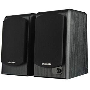 [Prime] Caixa de Som Microlab Just Listen B77BT Bluetooth Preta 2.0 64 Watts
