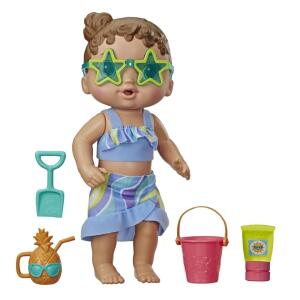 Boneca Hasbro Baby Alive - Bebê Sol e Areia   R$68