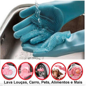 Megaluva Nova luva de limpeza que substitui esponjas de cozinha | R$ 10