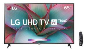 Smart Tv Led 65 Polegadas LG Uhd 4k Wi-fi Bluetooth - 65UN7100PSA | R$3199,99