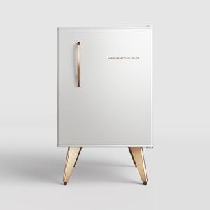 Frigobar Brastemp Retrô 76 litros Ice White | R$ 1499