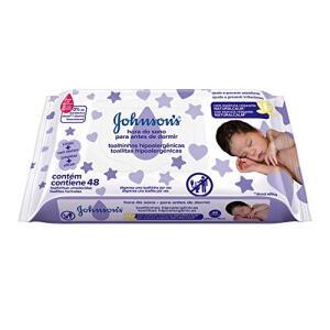 Lenços Umedecidos Johnson's Baby Hora do Sono, 48 unidades - R$6