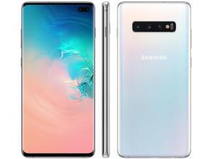 "[APP] Smartphone Samsung Galaxy S10+ 128GB Branco 4G - 8GB RAM Tela 6,4"" - R$2399"