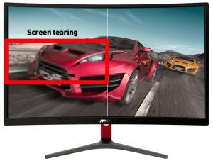 "MSI OPTIX G24C 23.6"" LED CURVO 144HZ 1MS FHD DVI/HDMI/DP PRETO/VERMELHO R$1499"