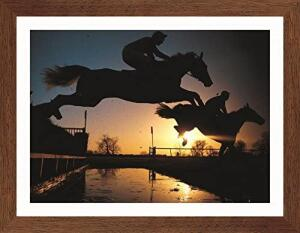 Quadro de Esportes Corrida de Cavalos Decore Pronto Multicor Médio | R$86