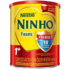 Leve 4 e pague 3 Nestlé Ninho Fases 1+ 800g Lata | R$61